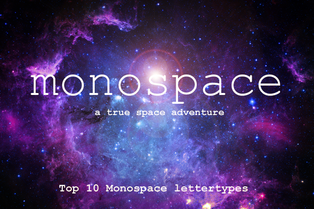 top 10 populaire monospace lettertypes drukwerkmaxblog. Black Bedroom Furniture Sets. Home Design Ideas